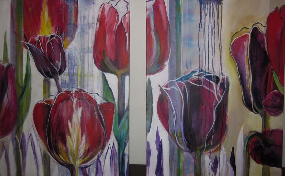 annie-van-de-kruys-tweeluik-tulpen